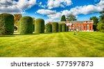 beautiful hyde park in london. | Shutterstock . vector #577597873