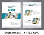 flyer design. business brochure ... | Shutterstock .eps vector #577615897