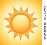 sun icon vector | Shutterstock .eps vector #57762991