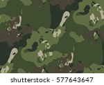Camouflage Seamless Pattern In...