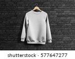 sweatshirt mockup   Shutterstock . vector #577647277