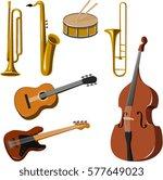 vector illustration of various... | Shutterstock .eps vector #577649023