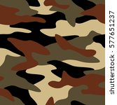 camouflage pattern background... | Shutterstock .eps vector #577651237