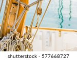 Classic Sailing Boat Mast With...