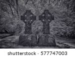 Surreal Dark Celtic Graves....
