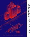 live sound concert poster... | Shutterstock .eps vector #577762753