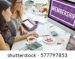 superior supreme vip membership ... | Shutterstock . vector #577797853