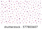 love wallpaper. hearts vector... | Shutterstock .eps vector #577803607