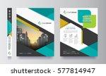 poster flyer pamphlet brochure... | Shutterstock .eps vector #577814947
