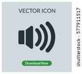 volume vector icon | Shutterstock .eps vector #577911517