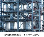 pipelines and petrochemical... | Shutterstock . vector #577942897