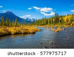 beautiful lakes vermilion in... | Shutterstock . vector #577975717