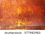 Texture Of Rusty Iron. Aged...