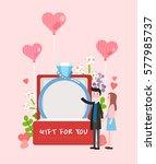 love illustration | Shutterstock .eps vector #577985737