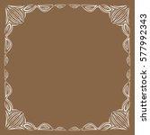 frame. decorative element.... | Shutterstock .eps vector #577992343