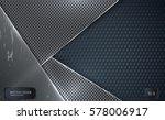 abstract vector background. ... | Shutterstock .eps vector #578006917