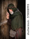 apostle peter in shame and... | Shutterstock . vector #578008993