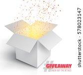 illustration of vector grey box ... | Shutterstock .eps vector #578023147