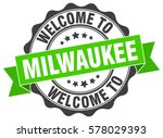 milwaukee. welcome to milwaukee ... | Shutterstock .eps vector #578029393