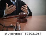 justice and law concept.male... | Shutterstock . vector #578031067