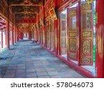 The Royal Palace In Hue Vietnam