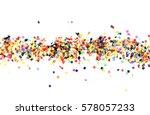 flat design element.abstract... | Shutterstock . vector #578057233