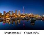 marina quay west  ontario ... | Shutterstock . vector #578064043