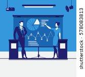 vector illustration of business ... | Shutterstock .eps vector #578083813