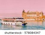 Ferry Sail Down By Bosporus...