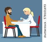 test for diabete. | Shutterstock .eps vector #578101693
