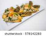 Small photo of Abruptness with tuna and tomatoes