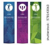 vector psychology web banner... | Shutterstock .eps vector #578143063
