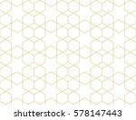 islamic geometric seamless... | Shutterstock .eps vector #578147443