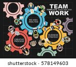 flat design illustration... | Shutterstock .eps vector #578149603
