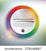 abstract vector background.... | Shutterstock .eps vector #578168887