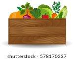 healthy freshly harvested...   Shutterstock .eps vector #578170237