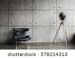 Loft Interior Mock Up Photo....