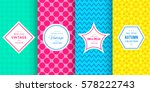 cute bright seamless pattern... | Shutterstock .eps vector #578222743