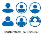 people user profile sign avatar ... | Shutterstock .eps vector #578228857