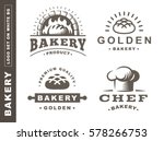 set bread logo   vector... | Shutterstock .eps vector #578266753