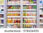 blurred beverages drinks shelf... | Shutterstock . vector #578326453