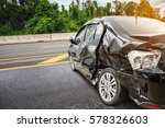 car crash accident on the road | Shutterstock . vector #578326603