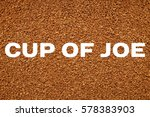 Instant Coffee Granules...