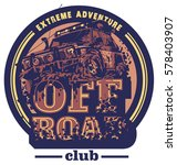 off road car logo  mud terrain... | Shutterstock .eps vector #578403907