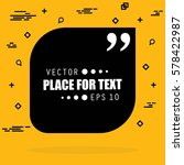 abstract concept vector empty... | Shutterstock .eps vector #578422987