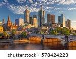 City Of Melbourne. Cityscape...