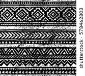 seamless geometric pattern.... | Shutterstock .eps vector #578462803