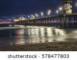 Huntington Beach Pier During...