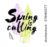 spring is coming vector... | Shutterstock .eps vector #578483377