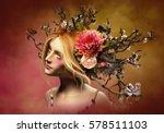 3d computer graphics of a ... | Shutterstock . vector #578511103